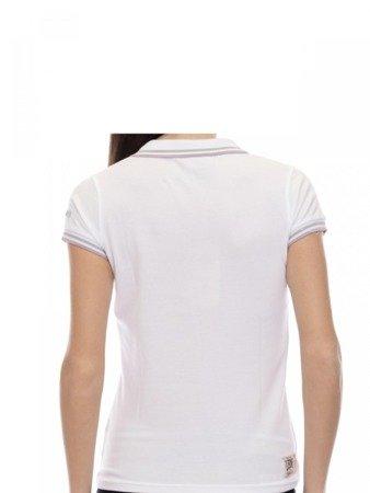 LEONE Polo T-shirt damski biały XS [LW1814]