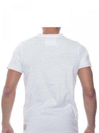 LEONE T-shirt biały M [LSM1710]