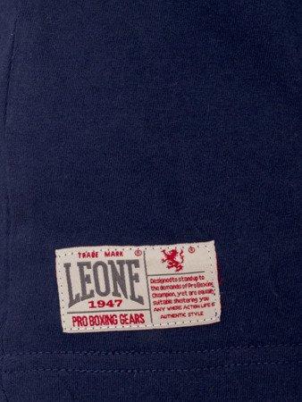 LEONE - TSHIRT [LSM1534_granat melanż]