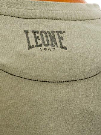 "LEONE - TSHIRT ""OLD"" [LSM1512_zielony]"