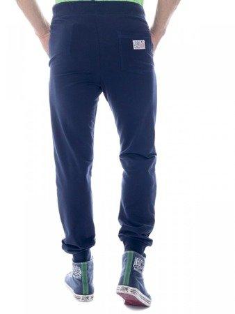LEONE spodnie dresowe granatowe M [LSM1660]