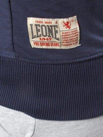 Leone - Dres damski z kapturem granatowy/szary