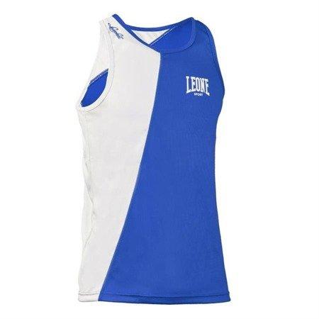 Leone1947 koszulka bokserska seria LINEAR niebieska rozmiar XS [AB722]