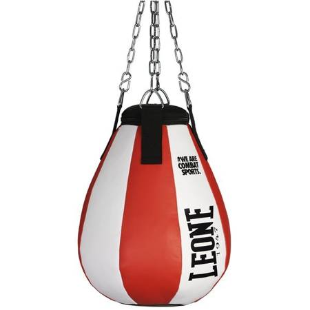 Worek treningowy /gruszka [12kg] bokserksa bialo/czerwona marki Leone1947